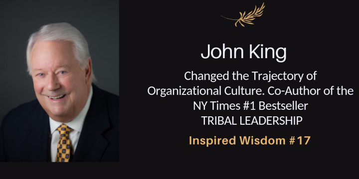 John King Author and Coach on Tribal Leadership