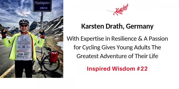 Cyclist and Author Karsten Drath on Resilience Training